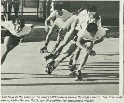 Roller skating Nelson photo News No 140 June 24 1972 p 42