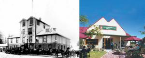 Family Brewery early 1900s and today