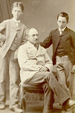 Frederick, Peter and William Trolove